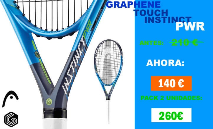 HEAD GRAPHENE TOUCH INSTINCT PWR